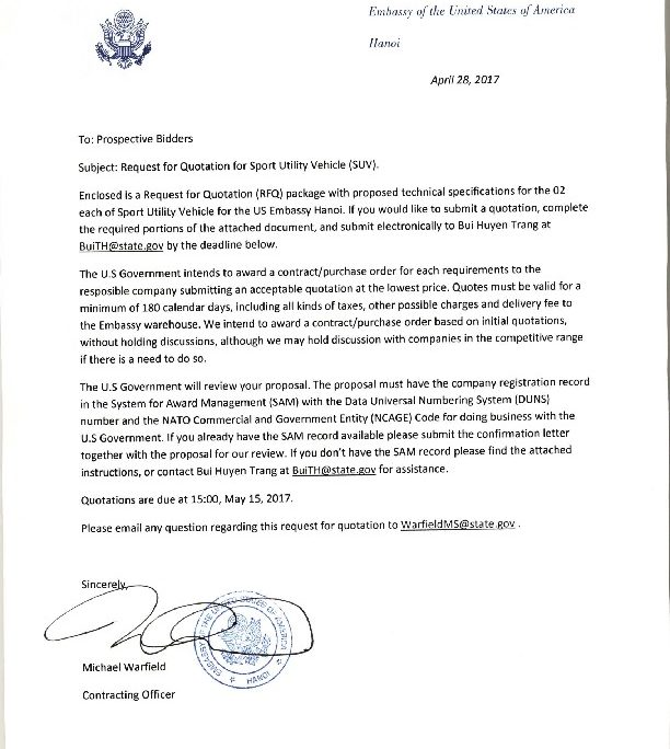 Bizops20170428 Suvpurchase Invitation Letter