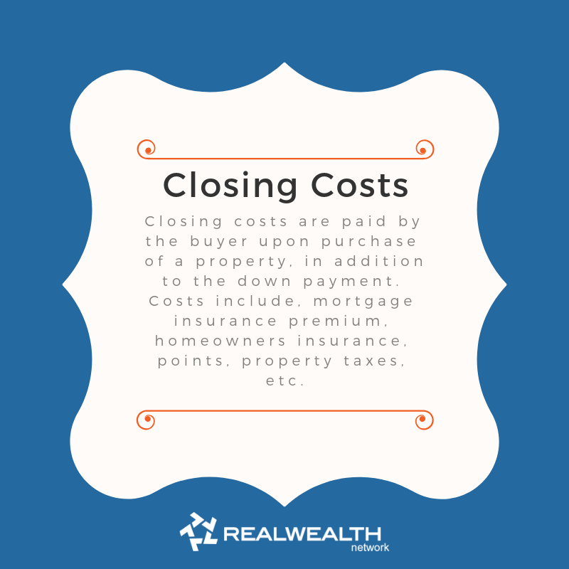 Definition of Closing Costs image