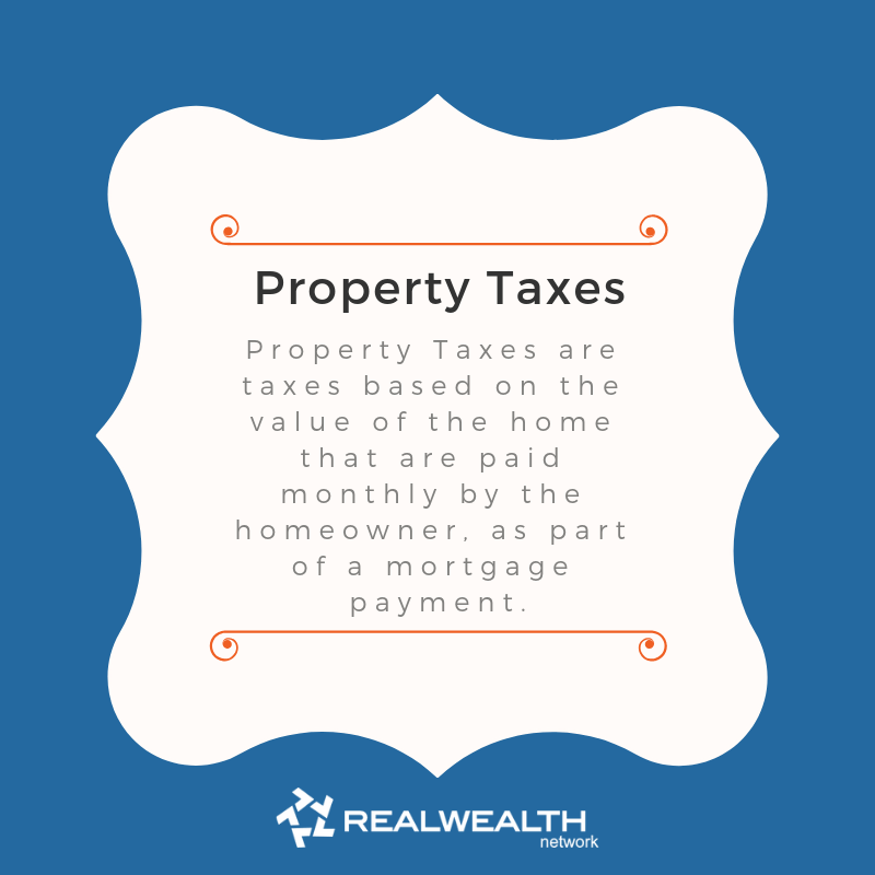 Definition of Property Taxes image