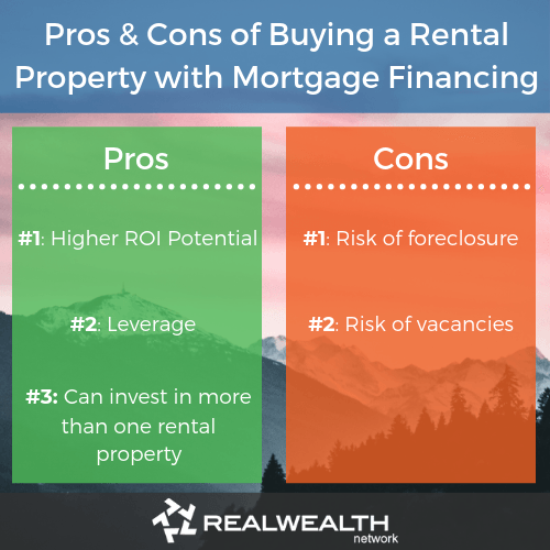 Pros and cons of buying a rental property with mortgage financing image