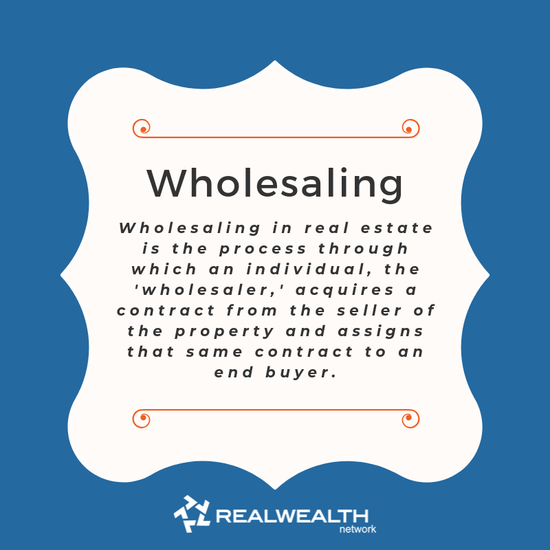 definition of Wholesaling