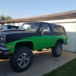 Reduced 1989 Chevy Blazer Mudrunner 6 In Lift With Alot Of Goodies Turbo Rugby Nd