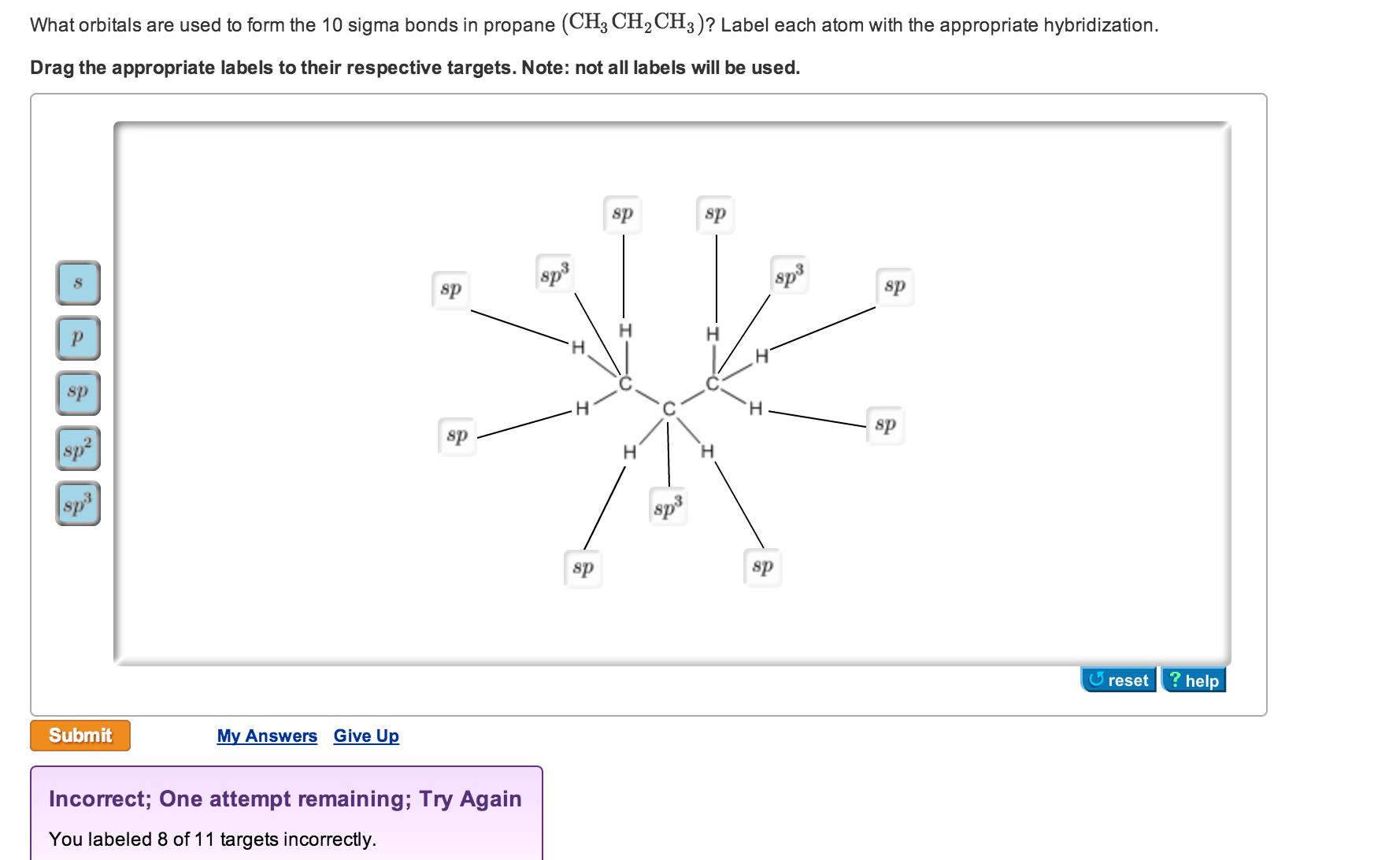 34 Label An Atom