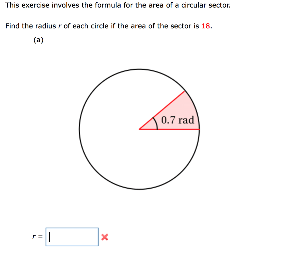 How To Find Area Of A Sector Of A Circle Formula