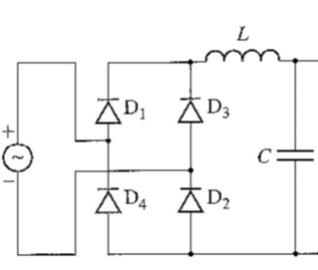 The Single Phase Bridge Rectifier Shown Below Is S