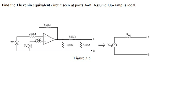 Solved: Find The Thevenin Equivalent Circuit Seen At Ports