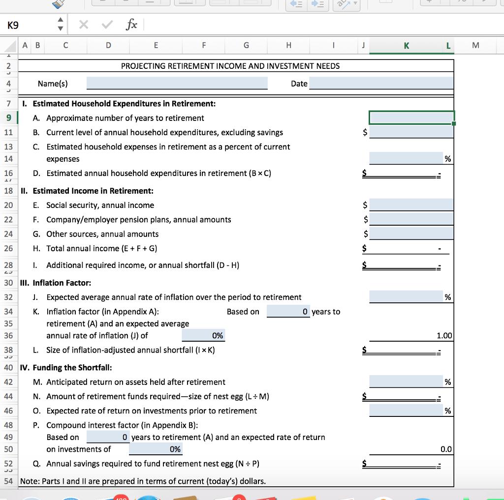 Use Worksheet 14 1 To Help Bill And Shirley Hogan