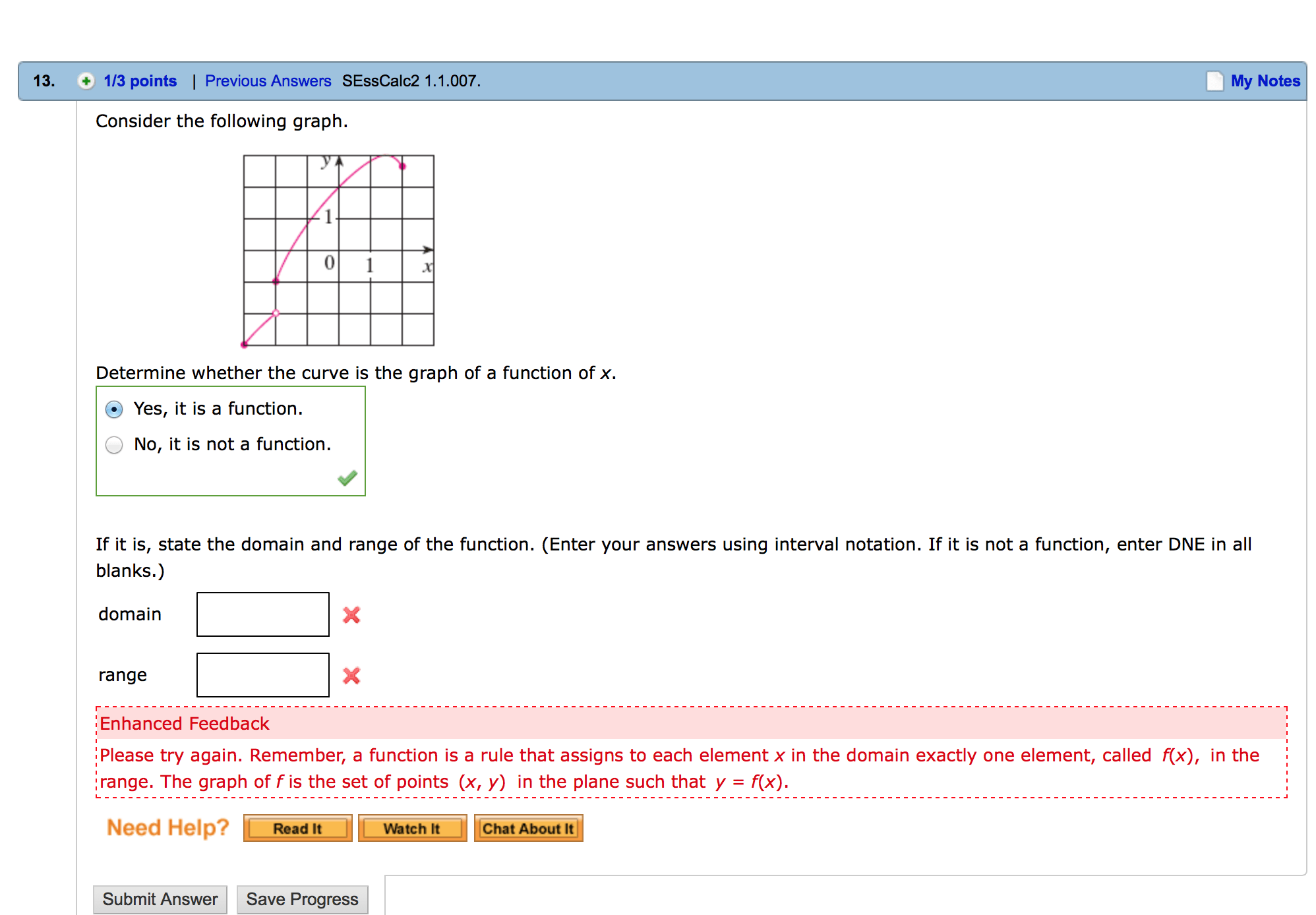 Solved Consider The Following Graph Determine Whether Th