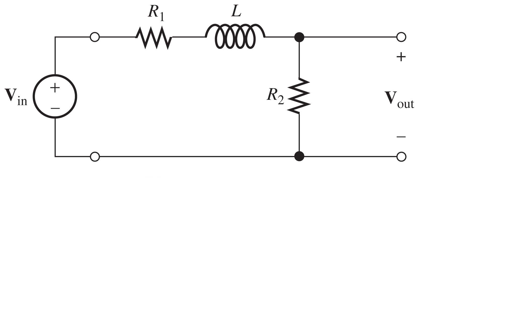 Solved Determine The Voltage Vout For The Circuit Shown I