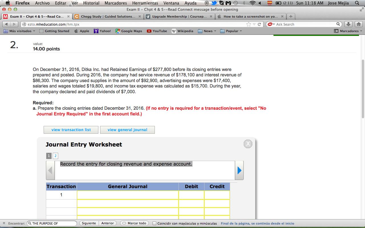 Solved Firefox Archivo Editar Ver Historial Marcadores He