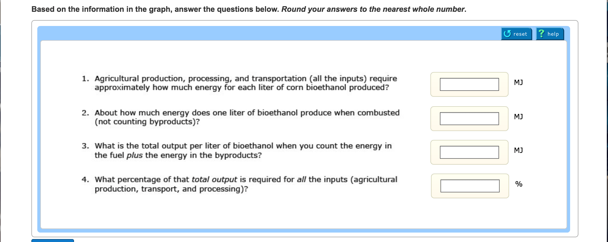 Based On The Information In The Graph Answer The