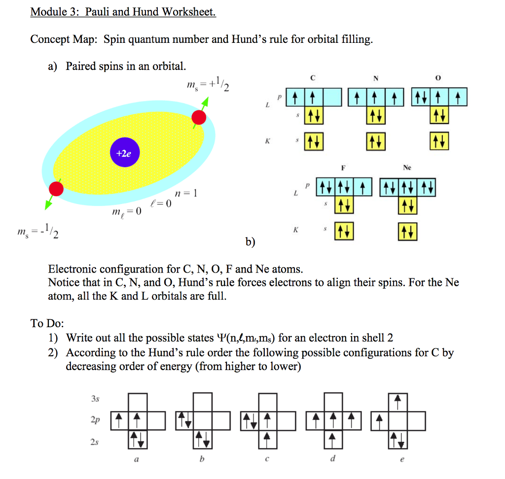 Worksheet Quantum Numbers Worksheet Grass Fedjp Worksheet Study Site