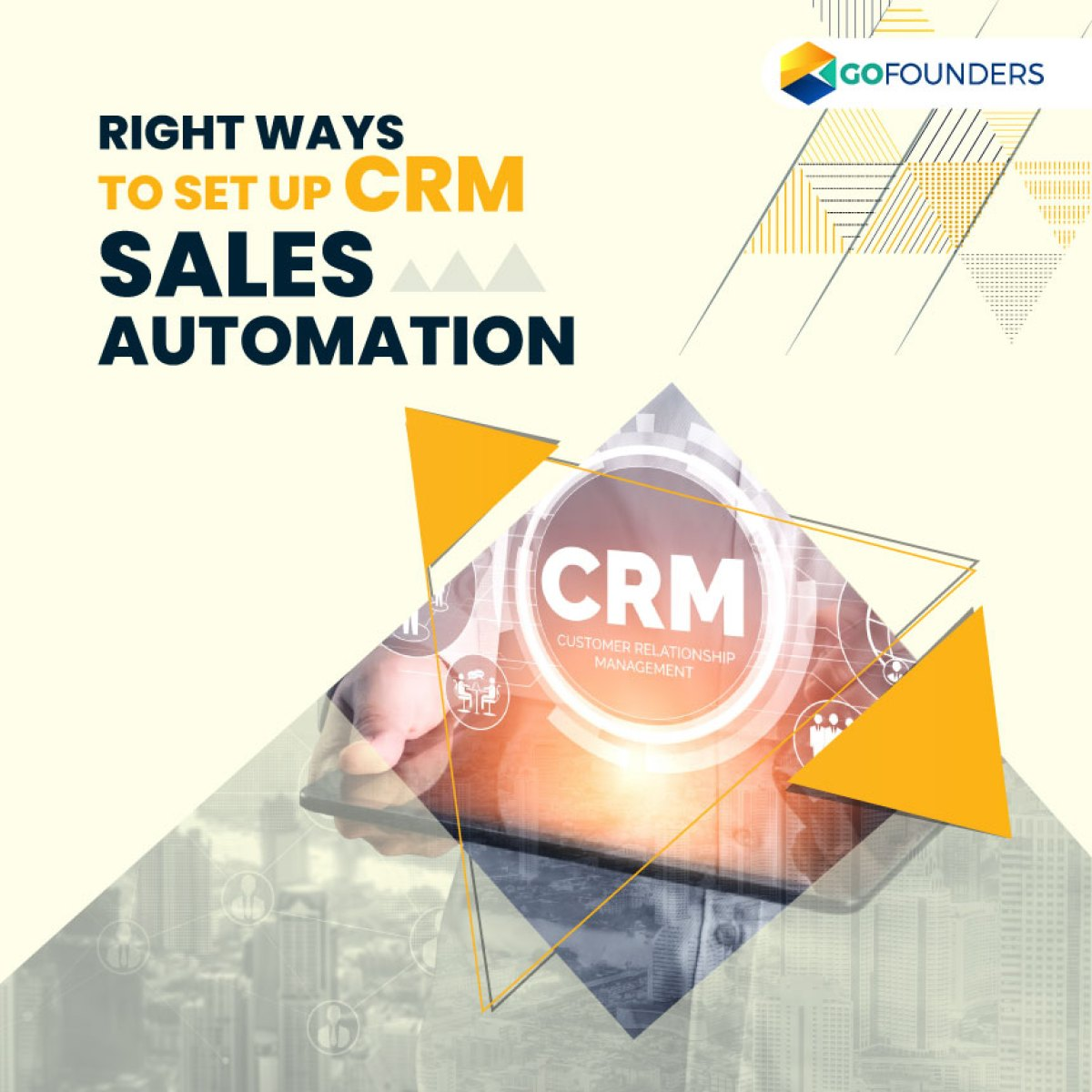 It has been seen that 74% of CRM users have seen improvement in their access to customer data because of the right CRM software. The right CRM software impacts the efficiency and productivity of an organization. And sales process automation is at the nucleus of a CRM's overall effectiveness.