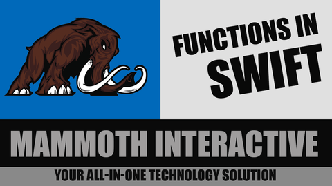 John Bura – Functions in Swift