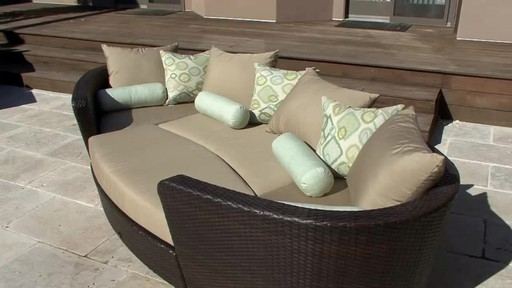 venice 4 piece patio modular deep seating lounge set by sirio