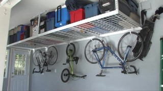 saferacks 4 x 8 overhead garage storage rack