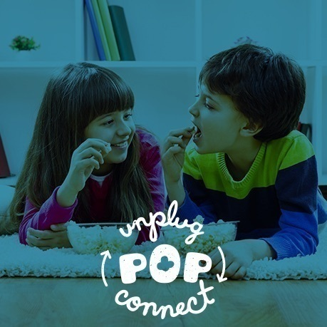 Unplug. Pop. Connect with JOLLY TIME Pop Corn