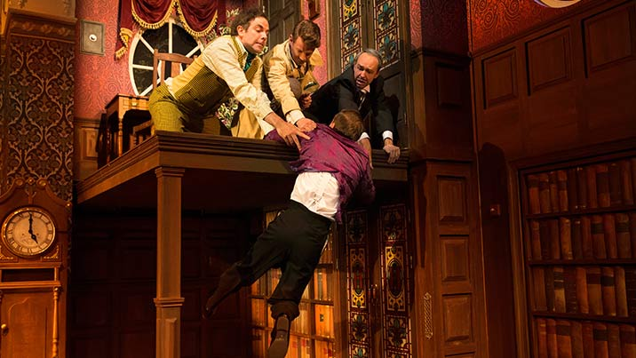The Play That Goes Wrong Roslyn Packer Theatre Walsh Bay
