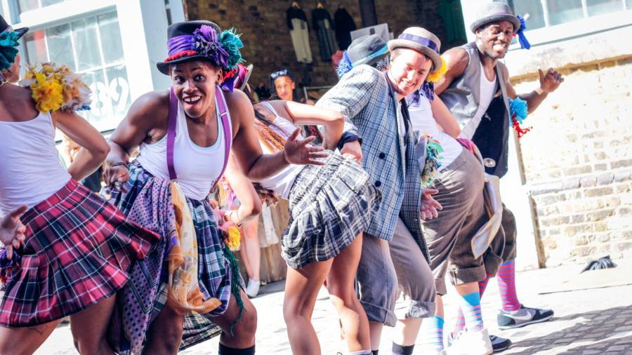 Family Ceilidh Jam with Folk Dance Remixed
