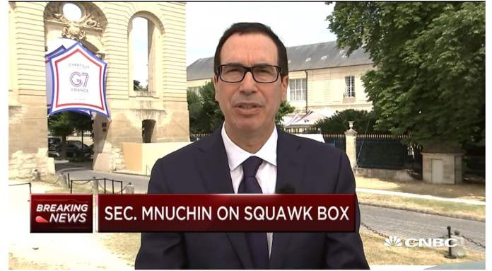Treasury Secretary Mnuchin