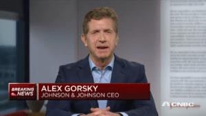 Johnson & Johnson CEO Alex Gorsky coronavirus vaccine