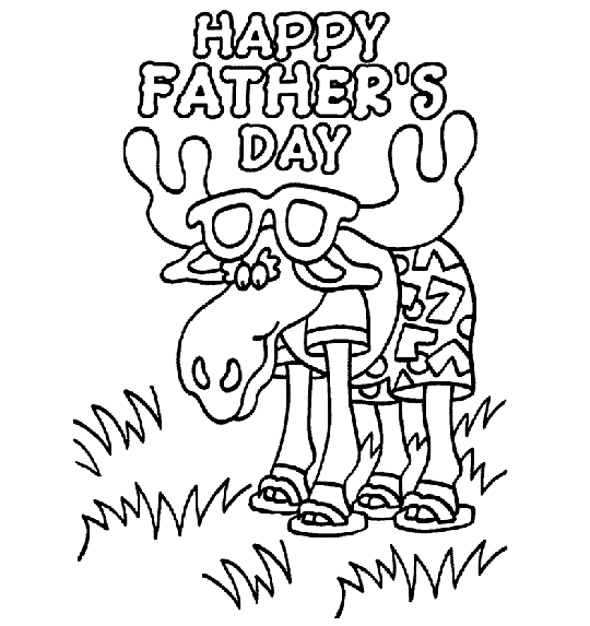Best Father S Day Coloring Pages Minno Parents