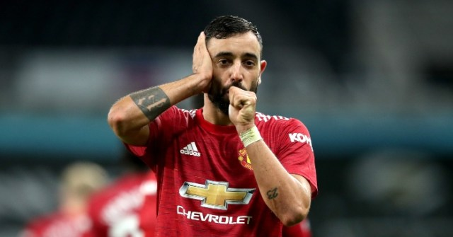 Ridiculous statistics: Bruno Fernandes on course to break award record