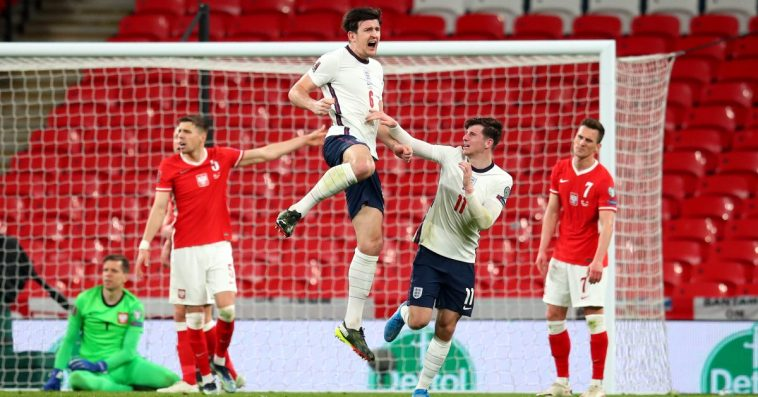 England 2-1 Poland: Maguire saves Southgate's men late on