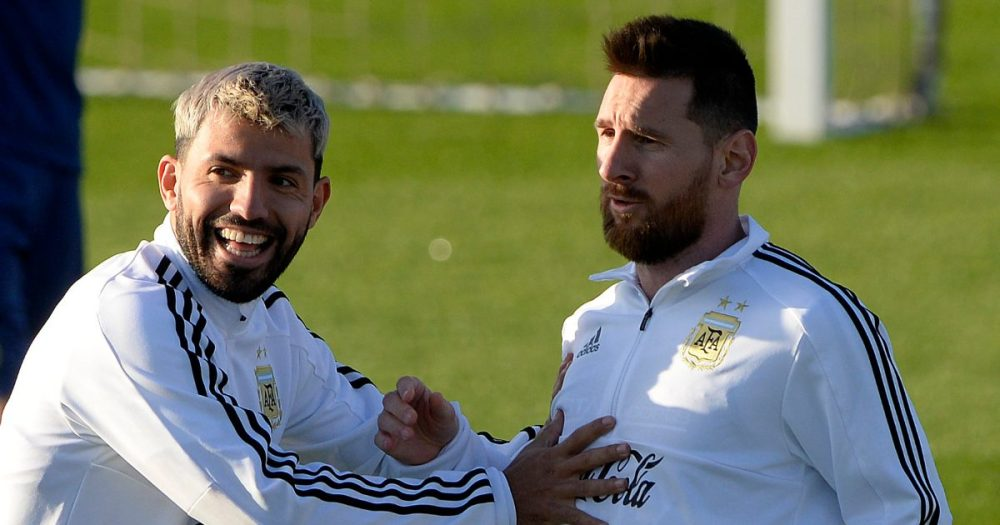 Aguero confident he will play alongside Messi at Barcelona - Football365