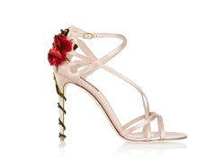 Dolce & Gabbana embellished satin sandals, US$1,455.25, available on