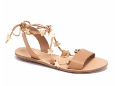 Loeffler Randall ankle wrap sandals, US$175, available at Loeffler Randall
