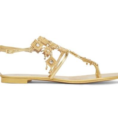 Giuseppe Zanotti 'Amira' sandals, US$1,695, available at Giuseppe Zanotti