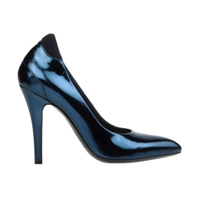 Maison Margiela 22 dark blue pump, US$253, available at Yoox