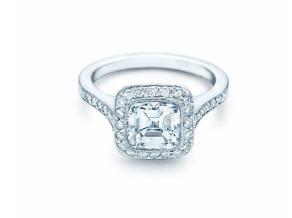 Tiffany Legacy cushion-cut ring