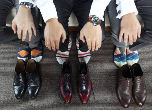 0b7ead26f47777 Share the love with your groomsmen - deck them all in Diamond Walker s  snazzy bespoke kicks