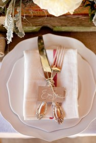 Rustic weddings Tableware She-N-He photography