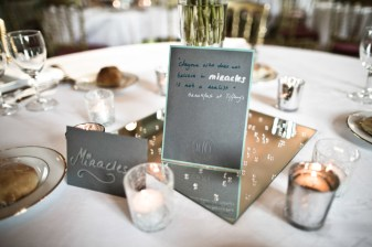 Pick out your favourite phrases from the movie and add it to the centerpiece of each table. Photo: Keoma Zec