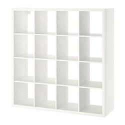 Kallax Shelving Unit White 147x147 Cm Ikea Indonesia