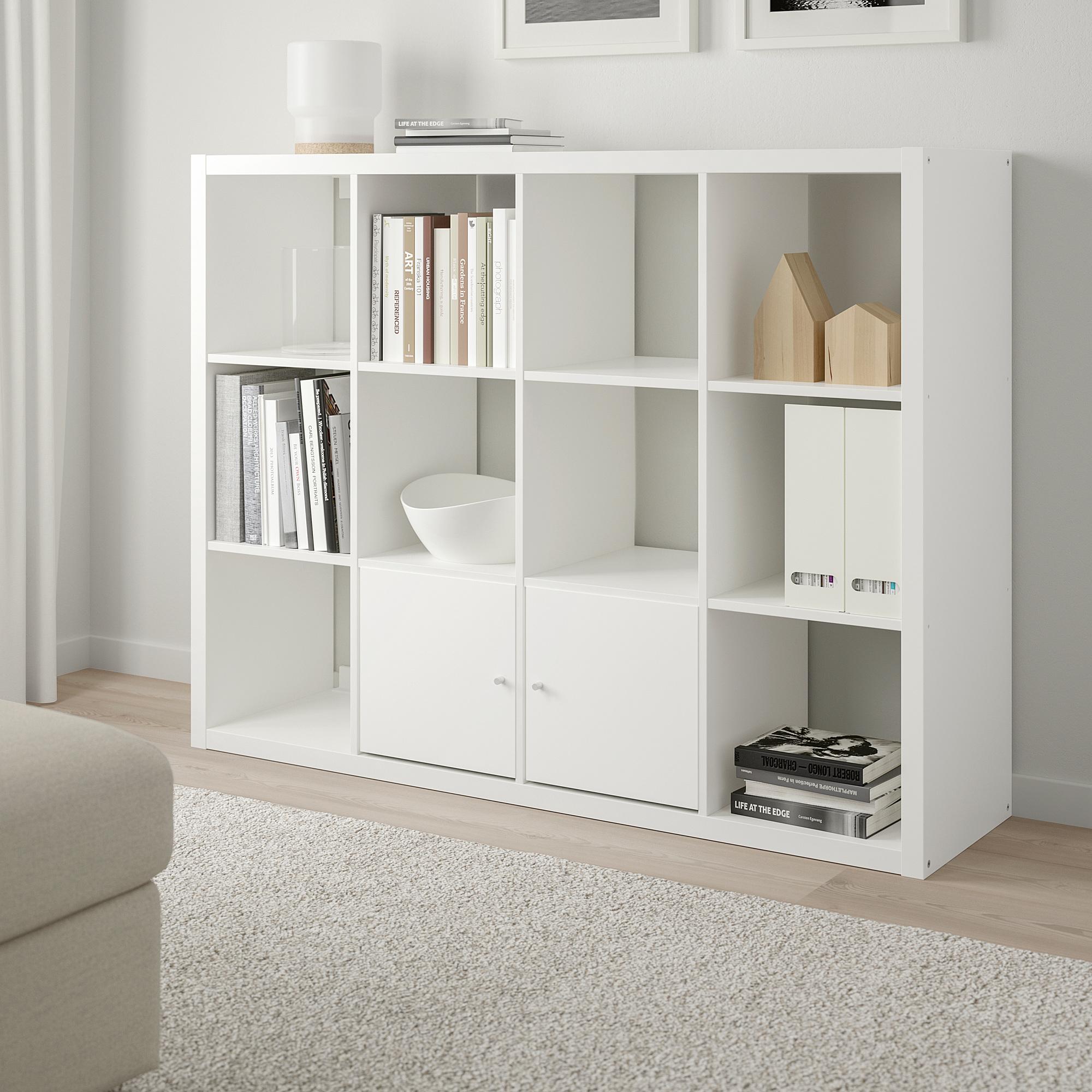 Kallax Unit Rak Putih 112x147 Cm Ikea Indonesia