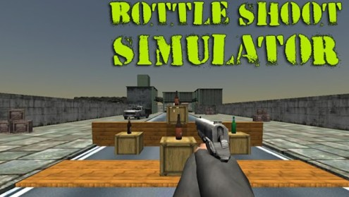 Bottle Shoot Simulator   by Prime Mobile Games   Simulation Games         Bottle Shoot Simulator