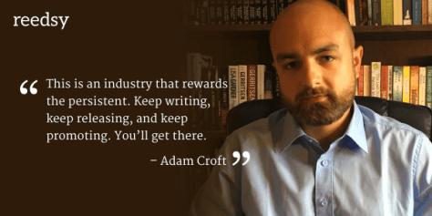 Image result for author adam croft