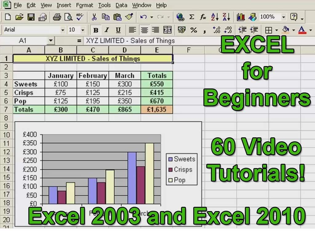 Microsoft Excel Tutorial For Beginners Excel