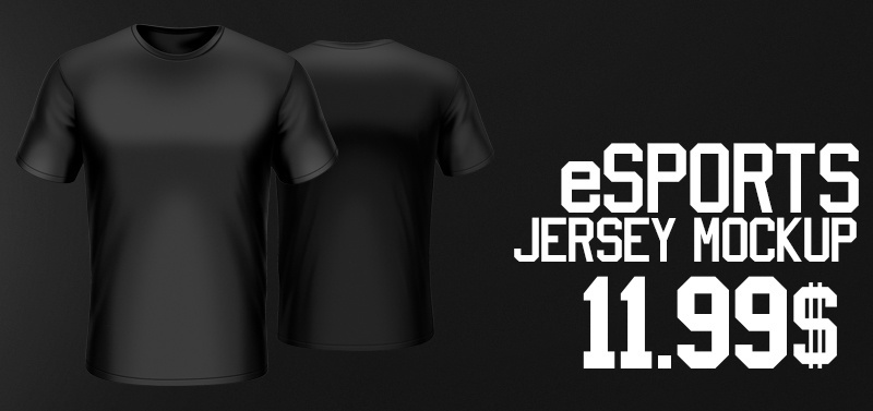 Download 1.978+ Esports Jersey Mockup Free - freemockup