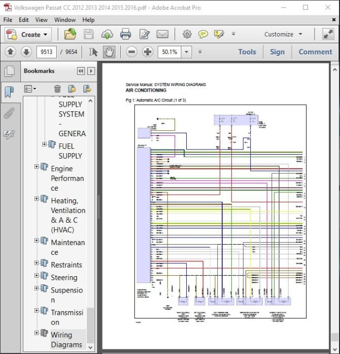 volkswagen cc wiring diagram  schematic wiring diagram