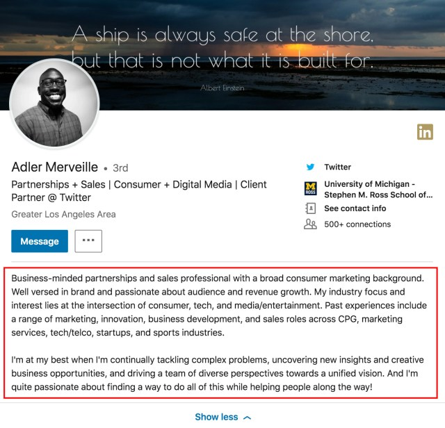 LinkedIn Summary Examples That Get Prospects Looking  Copper