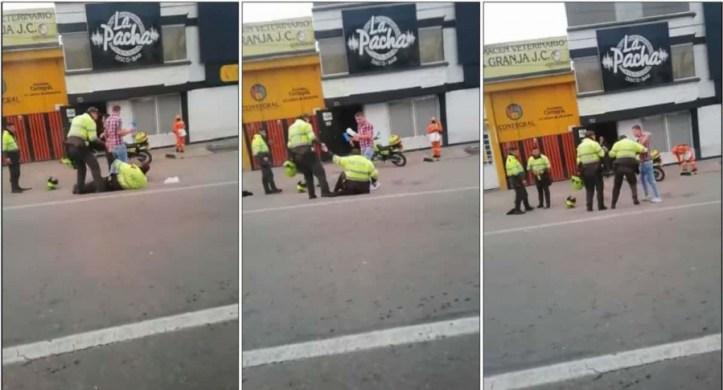 Policías borrachos