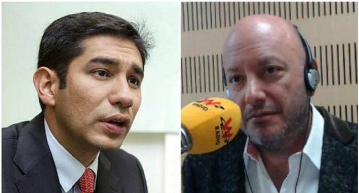 Luis Gustavo Moreno y Julio Sánchez Cristo