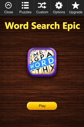 Word Search Epic for iPhone  iPad  Android   Kristanix Games Screenshots