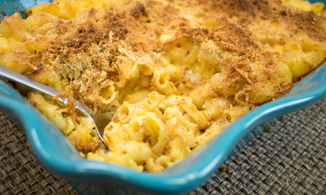 Homemade Baked Mac and Cheese