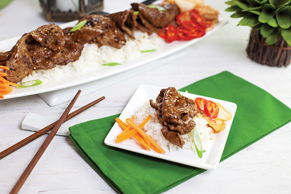 Asian-inspired small plates for the entire family